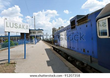 station - stock photo