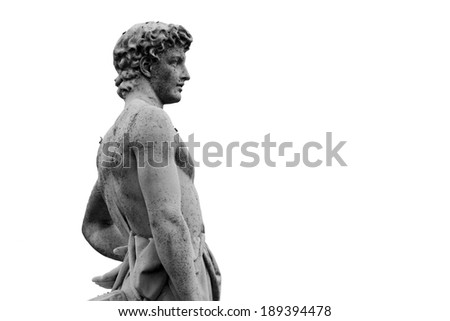Statue - stock photo