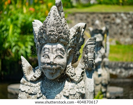 Statue at the Water Garden Bali, Indonesia