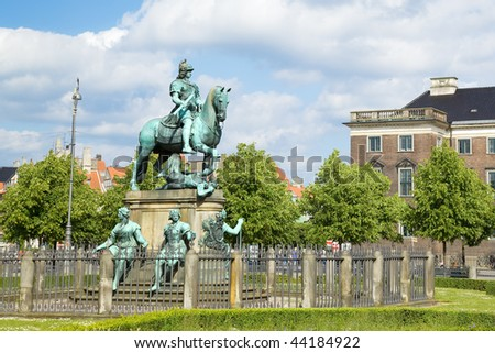 Statue in Copenhagen center