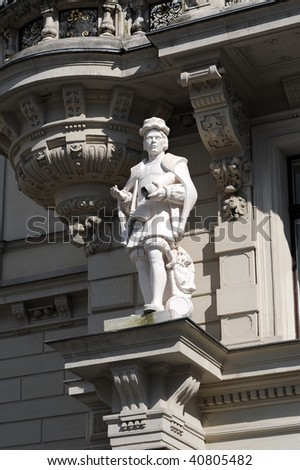 Statue in front of Graz city hall, Austria