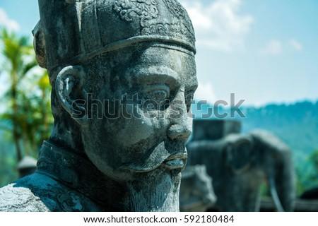 Statue in Hue, Vietnam