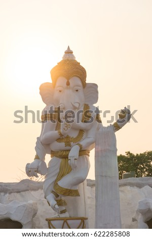 statue of hindu god ganesha that is the god that hindus respect can find the