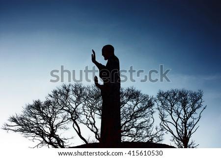 Statue of Jesus Christ - stock photo