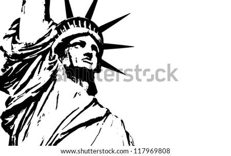 Statue of Liberty - stock photo
