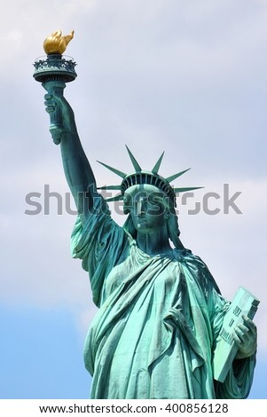 Statue of Liberty in New York City, United States. - stock photo