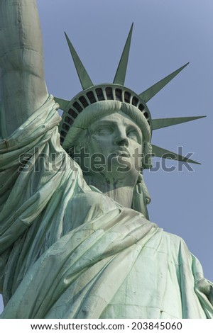Statue of Liberty, Liberty Island, New York City, USA