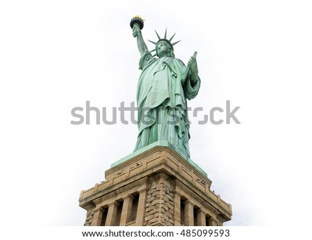 Statue of Liberty, Liberty Statue in New York, , USA