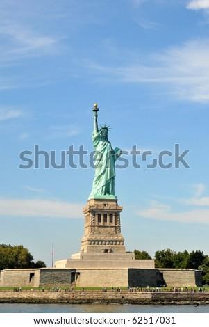 Statue of Liberty, New York - stock photo