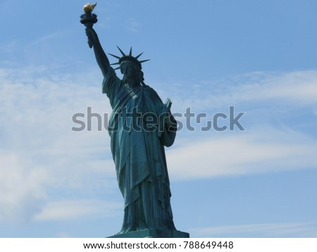 statue of liberty , New York , USA