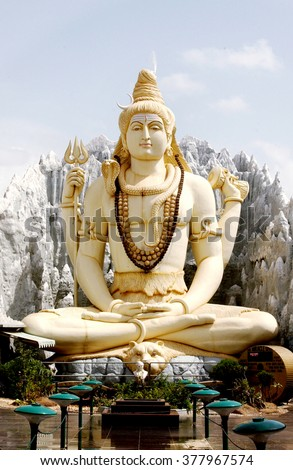 Statue of lord shiva                      - stock photo