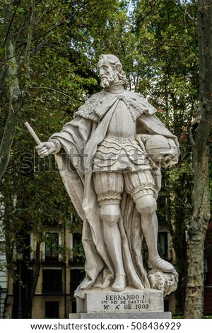 Statues Gothic Kings 1750 1753 Plaza Stock Photo (Safe to Use ...