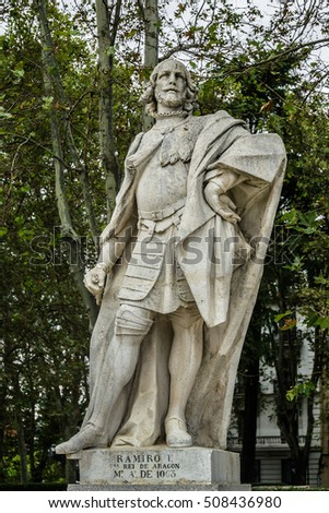 Statues Gothic Kings 1750 1753 Plaza Stock Photo (Edit Now ...