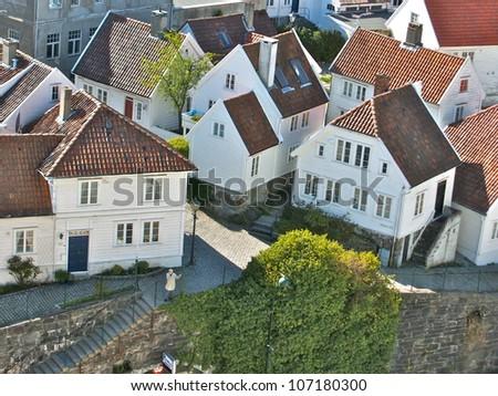 Stavanger, Norway - stock photo