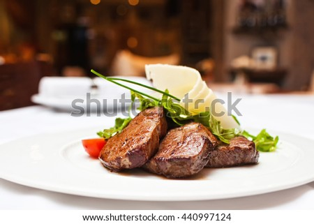 steak and parmesan