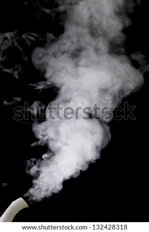 Steam - stock photo
