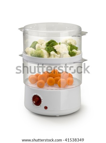 steam cooker - stock photo
