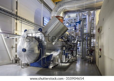 steam turbine condenser