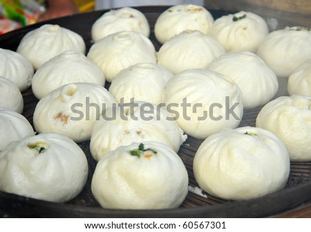 Steamed buns in China