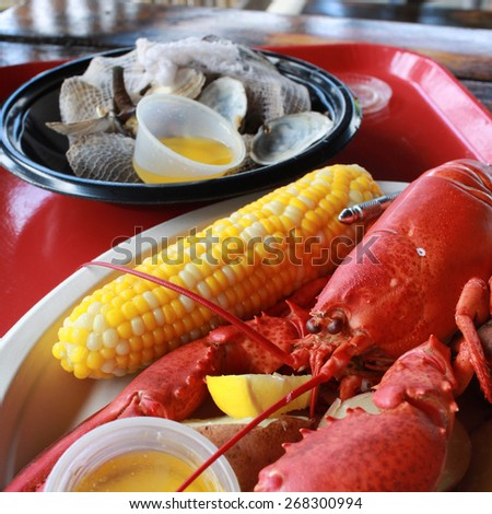 Vodka-Steamed Lobsters With Tomato-Thyme Butter Sauce Recipes ...