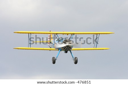 Stearman - stock photo