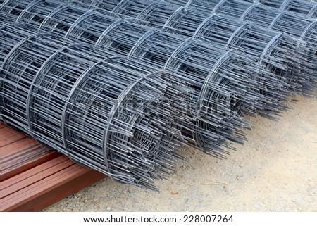 Steel bars - stock photo