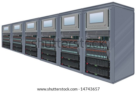 Steel Computer Server Cabinets