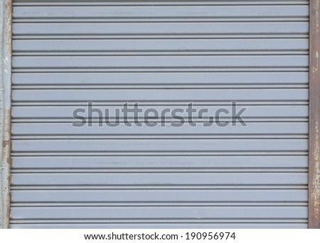 steel door textures - stock photo