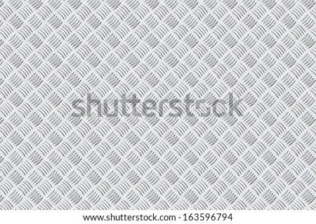 Steel floor pattern background - stock photo