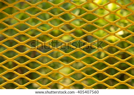 Steel grating pattern background - stock photo