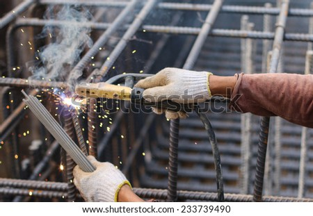 steel industry - stock photo