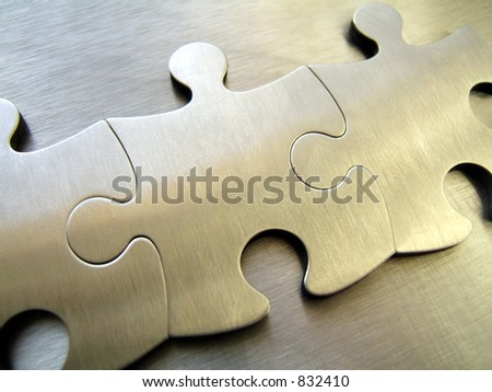 Steel jigsaw network