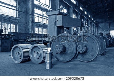 Steel lathe machinery and equipment