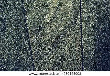 Steel leather texture with strips - stock photo