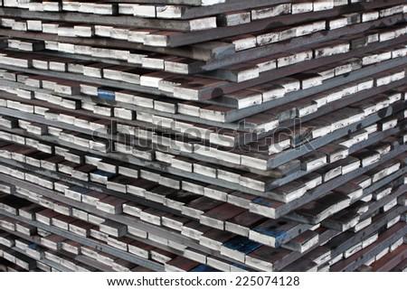 steel mold  - stock photo