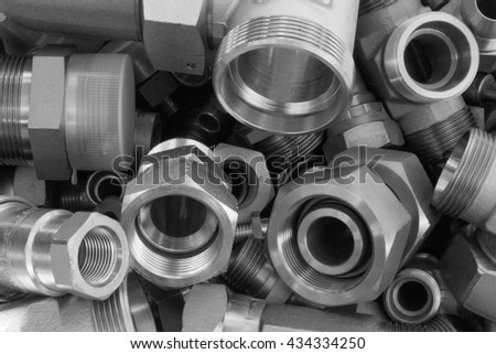 Steel pipe joints, high pressure fittings