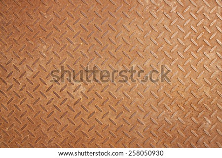 steel rust background - stock photo