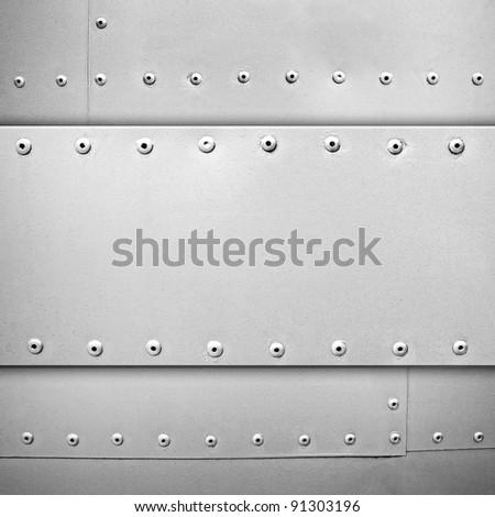 steel template - stock photo
