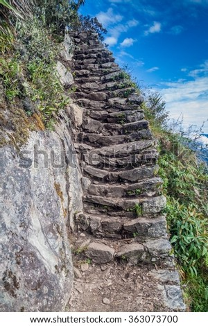 Steep Stairs Stock Images Royalty Free Images Amp Vectors
