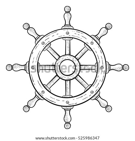 Ship+steering+wheel