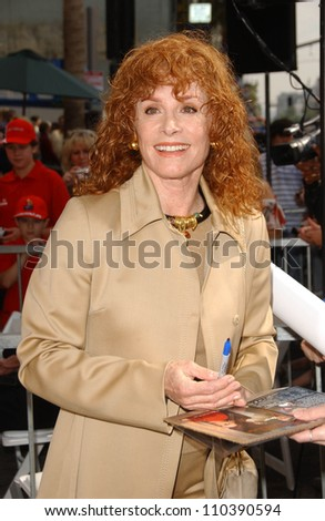 Stefanie Powers  at the ceremony honoring Roger Moore with the 2,350th Star on the Hollywood Walk of Fame. Hollywood Boulevard, Hollywood, CA. 10-11-07 - stock photo