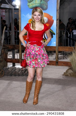 Stefanie Scott at the Los Angeles premiere of 'Rango' held at the Regency Village Theatre in Westwood on February 14, 2011.