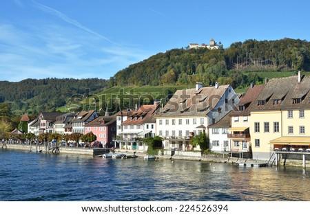 Stein am Rhein, Switzerland - stock photo