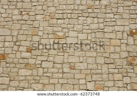 Steinmauer - stock photo