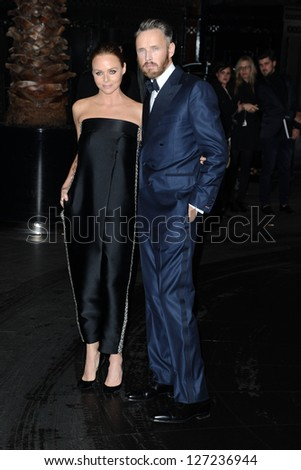 Stella McCartney and husband arriving for the British Fashion Awards 2012 at the Savoy Hotel, London. 27/11/2012 Picture by: Steve Vas - stock photo