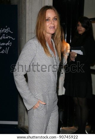 Stella McCartney arriving for the 2011 British Fashion Awards, at The Savoy, London. 28/11/2011 Picture by: Alexandra Glen / Featureflash - stock photo