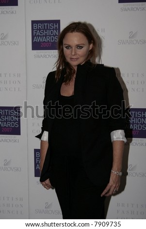 Stella McCartney, The British Fashion Awards, at the Lawrence Hall on November 27, 2007 in London, England. Photo Credit: Entertainment Press - stock photo