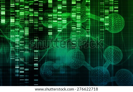 Stem Cell Research and Development as a Background - stock photo