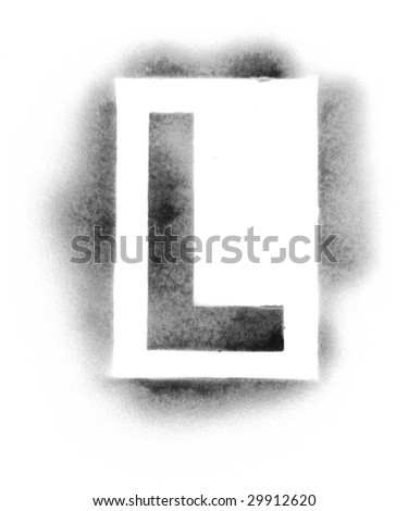 stencil letters stock photos images pictures shutterstock. Black Bedroom Furniture Sets. Home Design Ideas