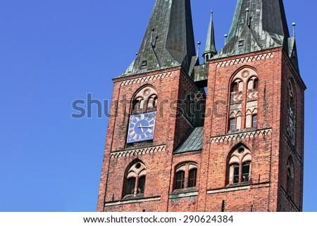 Stendal Marys Church - stock photo